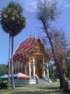 Templid on budistide meelispaigaks, neid on siin palju