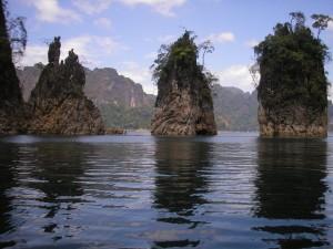 Hiina kaljud olid Khao Soki üks omanäolisemaid kivimoodustisi