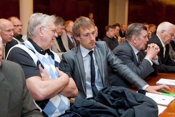 Värske EOK täitevkomitee liikme Jaak Salumetsaga. Foto: delfi.ee